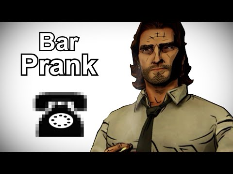 Bigby Continues His Search for The Woodsman - The Wolf Among Us Prank Call