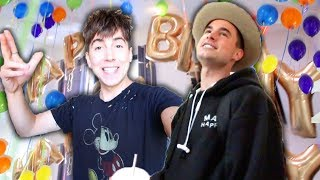 SURPRISING HIM FOR HIS BIRTHDAY!! (EXCITING)