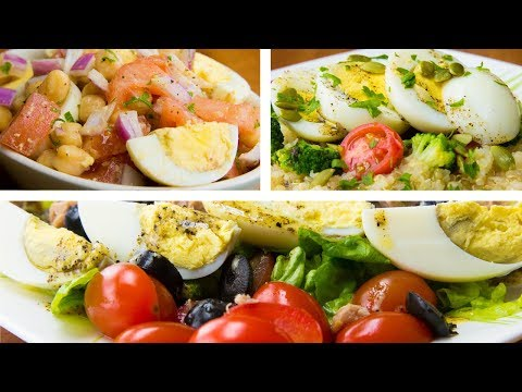 3 Boiled Egg Recipes For Weight Loss | Hard Boiled Egg Diet