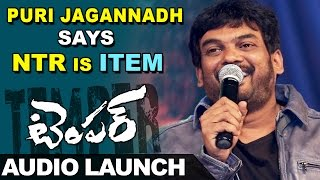 puri-jagannadh-says-ntr-is-item-in-temper-movie