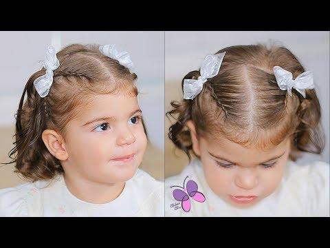 Peinado Para Bebe Menos De 2 Anos Peinado Para Bautizo Peinado