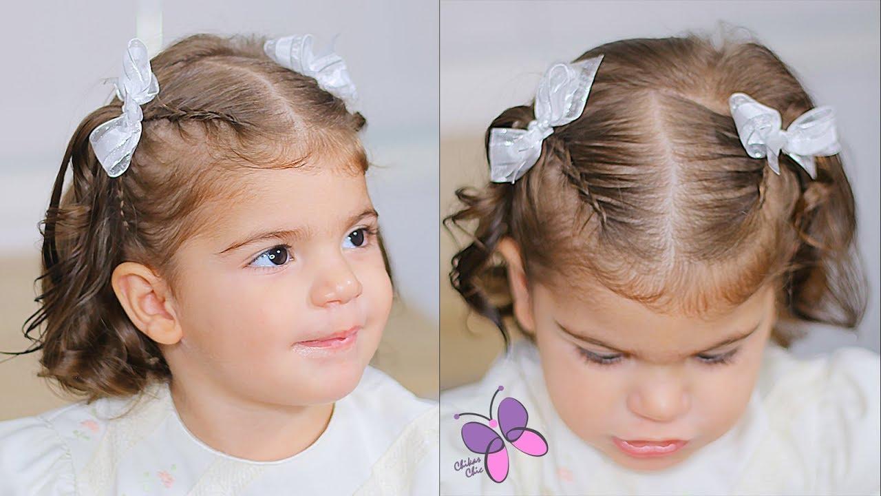 Peinado Para Bebe Menos De 2 Anos Peinado Para Bautizo Peinado - Peinados-para-un-bautizo-de-dia