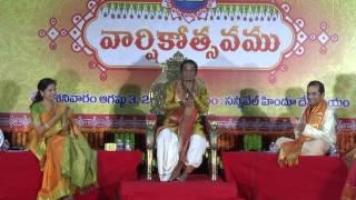 Sangeetha Navavadhanam - Silicon Andhra 12th Anniversary - Dr. Meegada Ramalinga Swamy