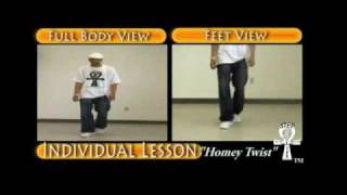 "Step / Line Dance - ""Homey Twist"" (Instructional)"