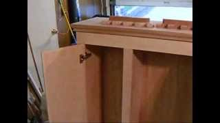 Home Made Gun Cabinet