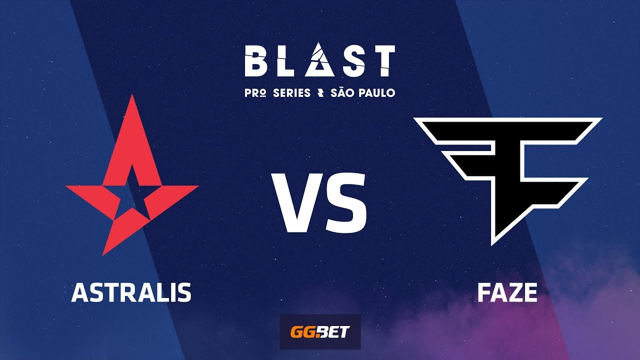 Astralis vs FaZe, overpass, BLAST Pro Series Sao Paulo 2019