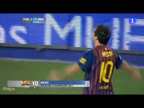 Barcelona 2 Madrid 1 Golazo de Messi!!!