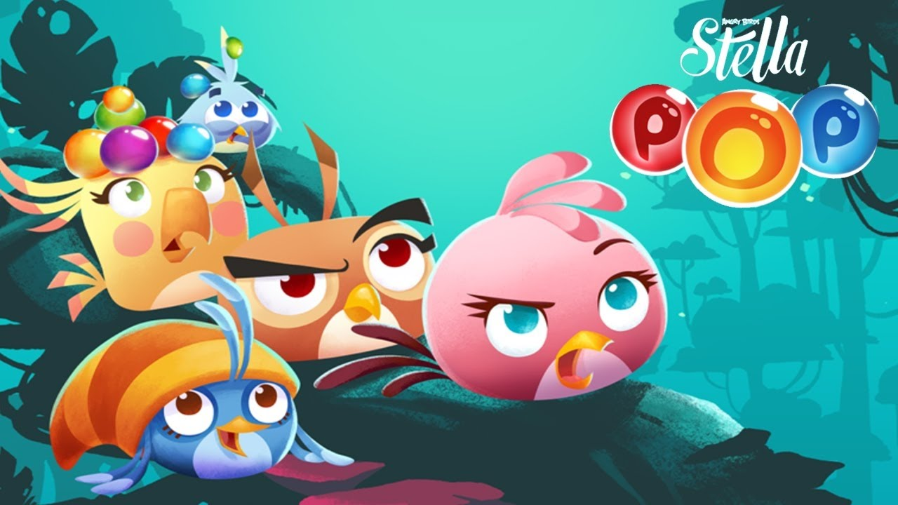 angry birds pop! bubble shooter game - angry birds 2 game - episode