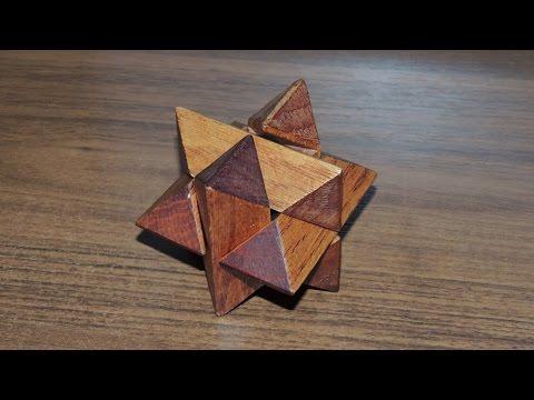 Головоломка ЗВЕЗДА (кристалл, звездчатый многоранник) - решение