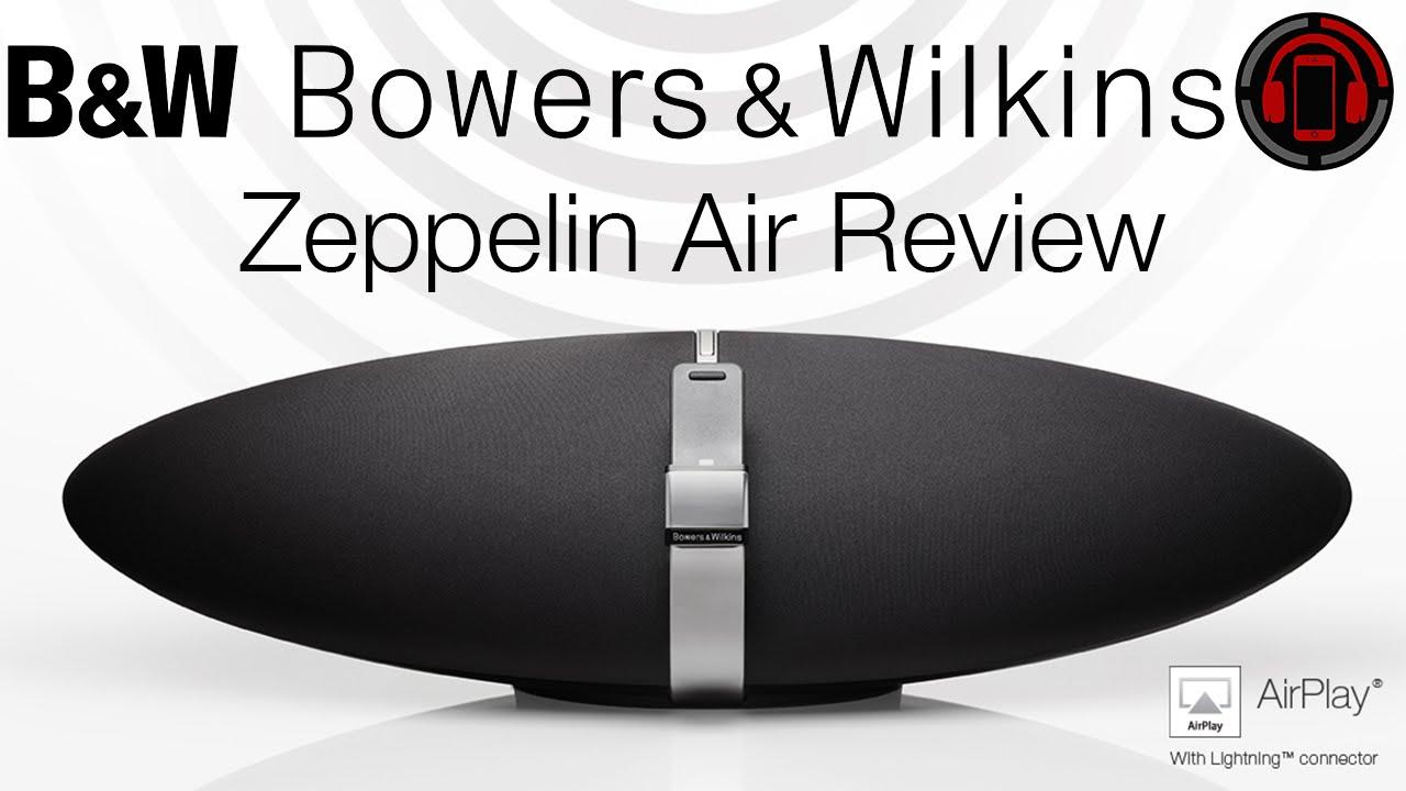 Bowers Wilkins Zeppelin Air Review Deutschgerman Youtube