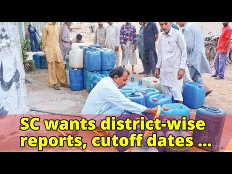 SC wants district-wise reports, cutoff dates for water and sanitation projects