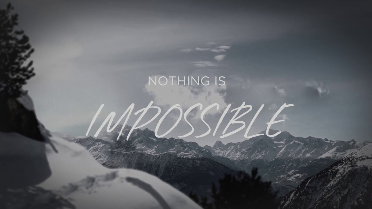 Corey Voss - Nothing Is Impossible [Walk Through Fire] (Official Lyric  Video)