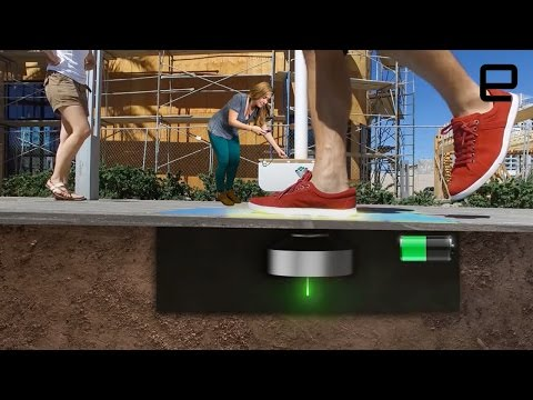 ICYMI: Charging lights with foot power