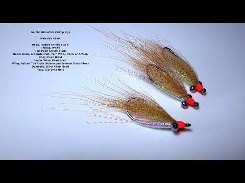 Tying A Gotcha (Bonefish Shrimp Fly) With Davie McPhail