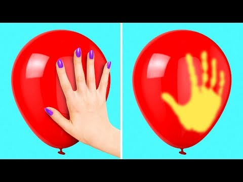12 COOL BALLOON HACKS AND IDEAS