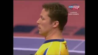Table Tennis - Attack (Rotation style - BENTSEN) Vs Attack (Allround style - WALDNER) II