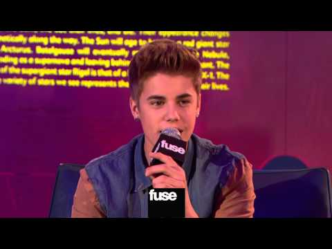 Justin Bieber Sings Rare