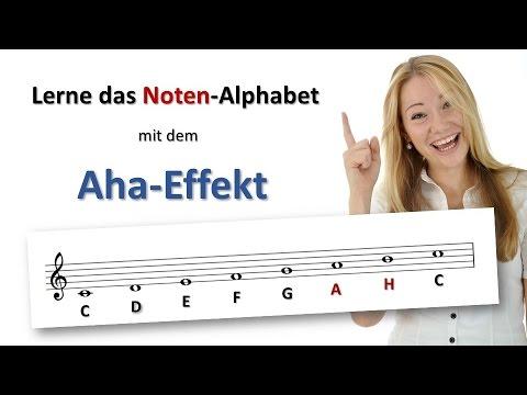 Spielend Noten lernen – So lernst du das Noten-Alphabet mit dem Aha-Effekt