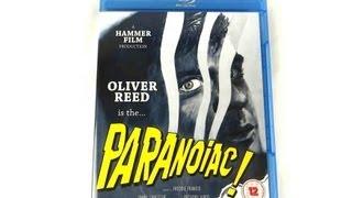 Paranoiac - Freddie Francis (1963) - UK Blu-ray (Eureka!)