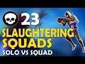 23 KILLS | DAEQUAN SLAUGHTERING SQUADS | FUNNY GAME - (Fortnite Battle Royale)
