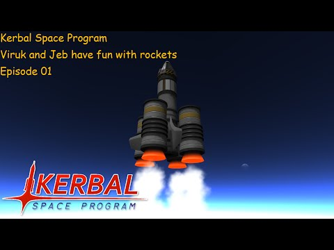 KSP With Jeb EP01: Testing RT-10 Solid Fuel Boosters