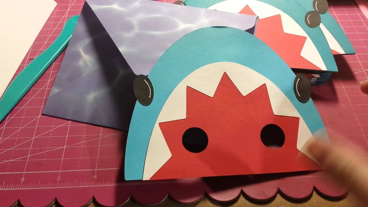 shark pool party invitations youtube