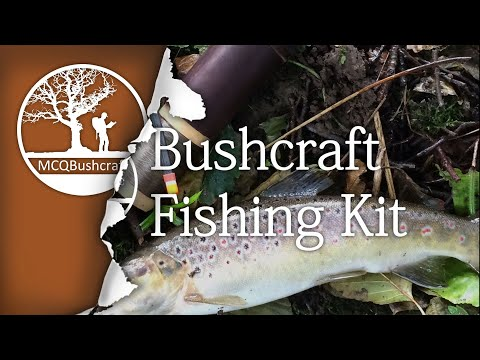 Bushcraft Fishing: Building a Kit (Non UK Legal)