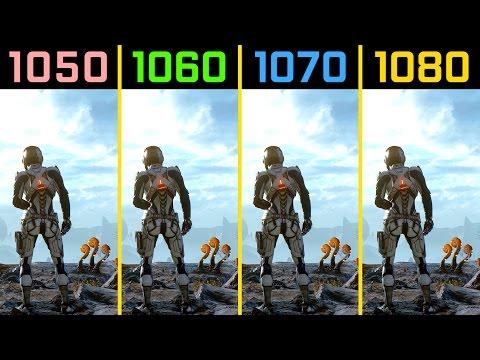 Mass Effect: Andromeda GTX 1050 Ti vs. GTX 1060 vs. GTX 1070 vs. GTX 1080