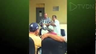 Prefeito de Baturité no Ceará, está afastado, agride professor. Veja o vídeo