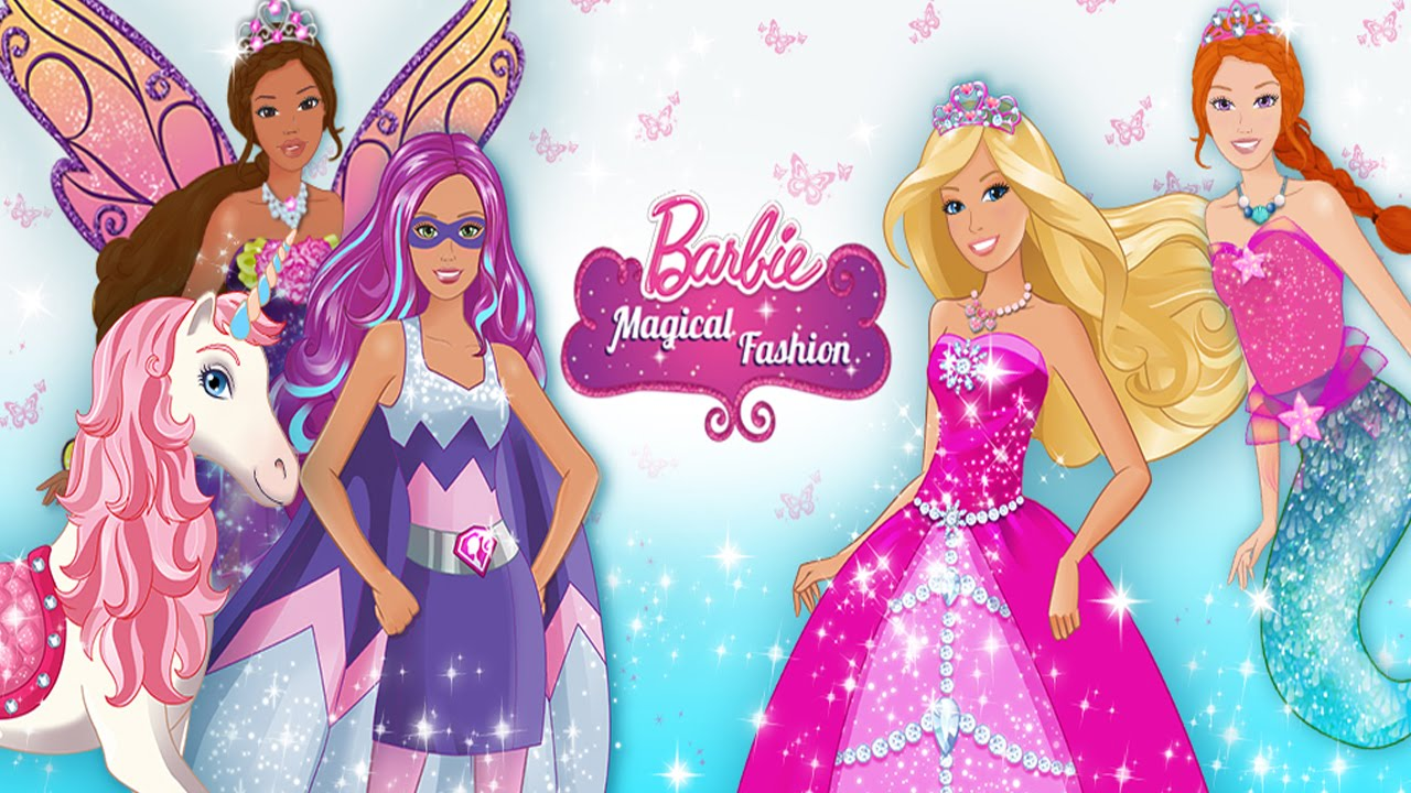 Cute Baby Doll Wallpaper Download Barbie Magical Fashion Dress Up Budge Studios Best