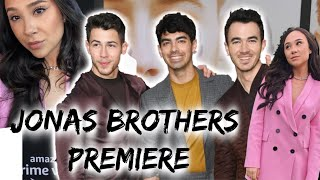 I went to the JONAS BROTHERS premiere (vlog)