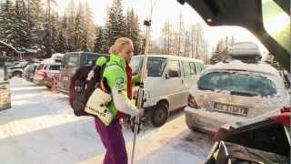 Lindsey Vonn Documentary Extract Ausschnitte  Dokumentation NDR Sportclub Stars vor der Ski-WM