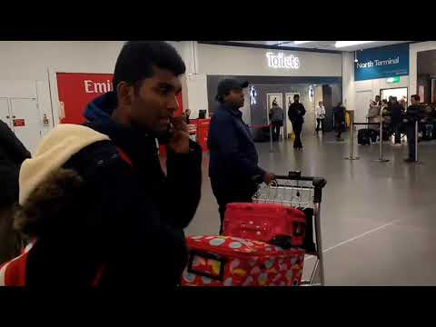 GATWICK AIRPORT After Landing | Arrival-Baggage Claim-North Terminal Exit