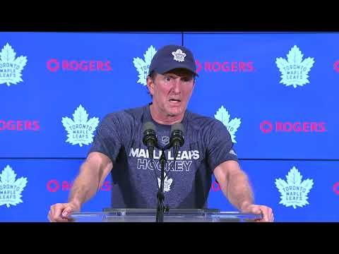 Maple Leafs Pre-Game: Mike Babcock - January 22, 2018