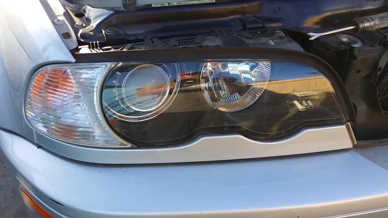 bmw e46 headlight [ 1280 x 720 Pixel ]