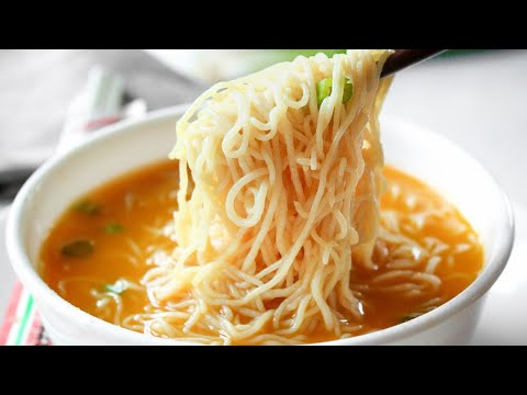 KETO Ramen Recipe |  How To Make Low Carb Ramen Noodle Soup For The Keto Diet