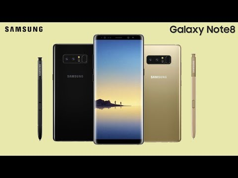 Galaxy Note 8 - Leaked From All The Angles!