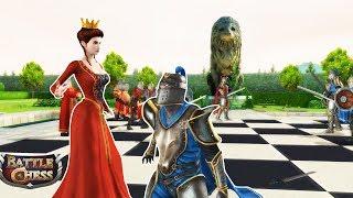 Battle Chess : Game of Kings - Game cờ vua hình người 3D: Hoàng hậu đã xinh đẹp lại còn ngầu!!!