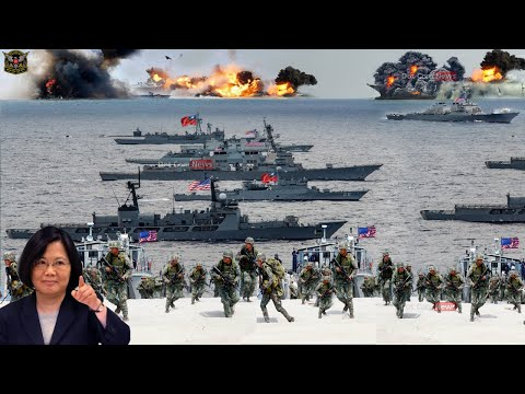 War begins (oct 26 2020): US deploys strength Military after China invade Taiwan in South China Sea