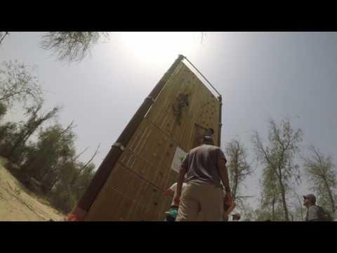 Columbia Adventure Academy :- Aventura Park  Wall Climbing