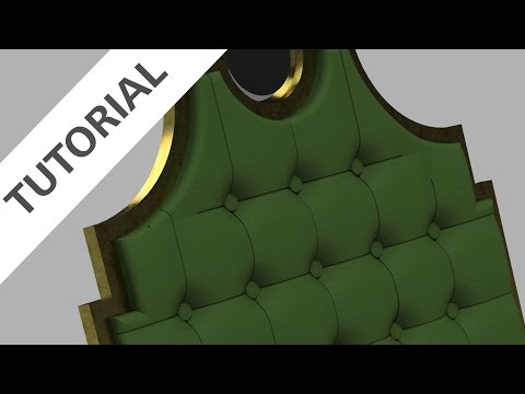 Design a Tufted Headboard in Fusion 360