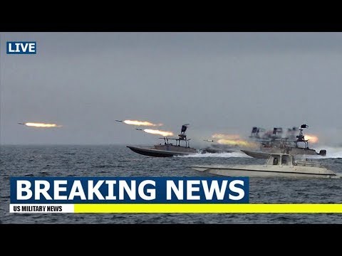 Iranian Ships Fire Rockets as US Aircraft Carrier Enters Persian Gulf