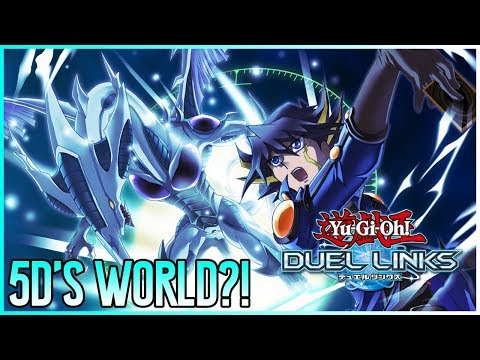 YU-GI-OH 5DS WORLD PLANNED SOON?! | Yu-Gi-Oh! Duel Links Upcoming Updates!