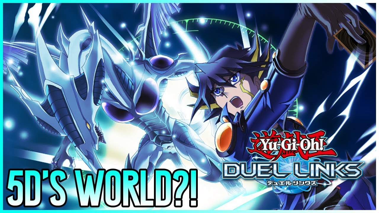 YU-GI-OH 5DS WORLD PLANNED SOON?!   Yu-Gi-Oh! Duel Links Upcoming Updates!