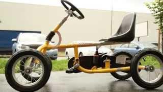 Велокарт Unix желтый - Unix Kart,четырехколесный велосипед для детей(Велокарт Unix желтый - Unix Kart - четырехколесный велосипед для детей, наш отзыв от покупки в магазине розетка...., 2014-07-19T12:01:26.000Z)