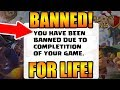 PLAYER GOT BANNED FOR COMPLETING THE CLASH OF CLANS!!!!