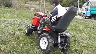 мини-трактор из мотоблока FORTE 121