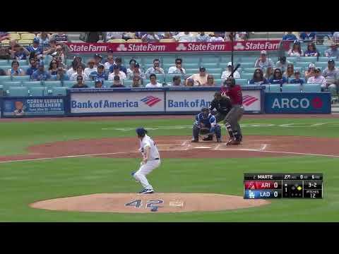 Clayton Kershaw 12 Strikeouts in 7 Innings vs Diamondbacks | Dodgers vs Diamondbacks