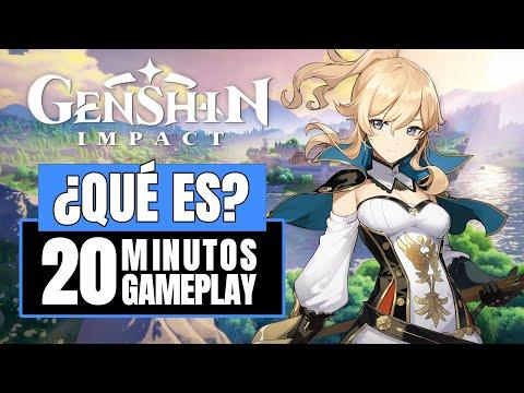 Genshin Impact - ¿Qué es? - 20 Primeros minutos gameplay