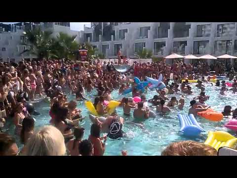 tiny tempa pool party hard rock hotel ibiza 2015 youtube. Black Bedroom Furniture Sets. Home Design Ideas